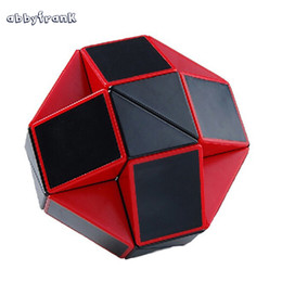 Wholesale Toys Change Shape - Abbyfrank Puzzle Magic Cube Snake Creative Puzzle Ruler Twist Miraculous Shape Changing Pyraminx Cube Puzzle Educational Toy