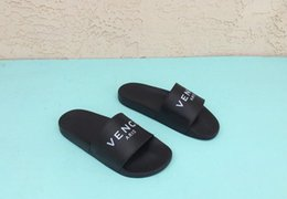 Wholesale Rubber Wallets - Hot sale designer sandals slippers men women printed slipper slides flat lettering rubber huaraches wallet hats shirts Boost Sply 350 v2