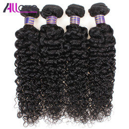 Wholesale 4bundles Virgin Indian Hair - Cheap Brazilian Hair Wefts 4Bundles Wholesale Unprocessed Peruvian Indian Malaysian Kinky Curly Virgin Hair Extensions Free Shipping