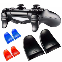 1 пара/комплект L2 R2 триггер расширенные кнопки комплект для PlayStation PS4 контроллер от
