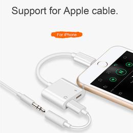 Canada 2in1 Câble Audio Adaptateur Pour iPhone X 8 8 Plus 7 Câble de Données Adaptateur De Charge Chargeur Chargeur Splitter Pour IOS iPad Écouteurs Convertisseur Offre