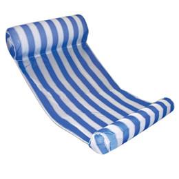 Venda quente Portátil Dobrável Inflável Cama Flutuante Assento Da Cadeira de Verão Piscina de Verão Brinquedo Divertido natação esporte supplier selling inflatable de Fornecedores de vendendo inflável