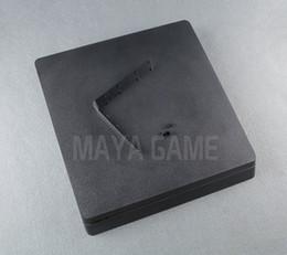 caixa ps4 Desconto Caso shell habitação completa para ps4 slim consola cor preta para ps4 2000 console habitação case capa casa shell tem logotipo