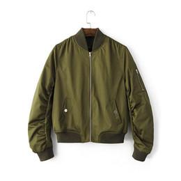 Wholesale Female Military Jackets - #2403 2017 Spring Womens jacket Female bomber jackets Army jacket women Chaquetas mujer Military women Fashion Baseball jacket