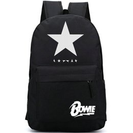 52b62d6907ae music backpacks 2019 - David Bowie backpack Black star day pack Music  singer school bag Casual