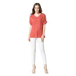 Bequeme leinenbekleidung online-Komfortable atmungsaktive Baumwolle Leinen Frauen Shirt Tops Kurzarm einfarbig Casual T-Shirt weibliche elegante ethnische Kleidung 2018