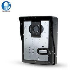 Бесплатная доставка видео дверной телефон системы открытый CMOS камера ночного видения видео домофон для контроля доступа двери от