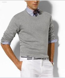 Wholesale Wholesale Mens Sweaters - Famous Brand Casual men Sweater O-Neck Slim Fit Knitting Mens Sweaters And Pullovers Men Pullover
