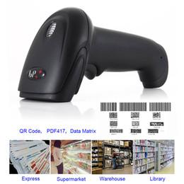 Wholesale Scanner Supermarket - Wireless Barcode Scanner Long Range Handheld USB Wired Rechargeable Supermarket Cordless Express Bar Code Reader XXM8