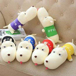 Multicolore peluche jouet voiture accessoires chien jouet pour voiture de poupée ornements déodorants grand chien charbon ? partir de fabricateur