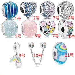 pulseras hacen formas Rebajas Original S925 Sterling Silver Mother Heart Beads Se adapta a Pandora Charms NecklaceBarmelets Jewelry Making Tree of Life en forma de corazón colgante