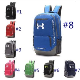 Wholesale modern fish - Modern Design UA Backpack Casual Hiking Camping Backpacks Waterproof Travel Outdoor Bags Teenager School Bag DHL Fedex Shipping
