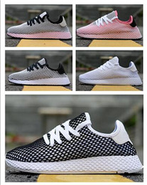 Wholesale grid floor - 2018 new popular All the styles and colors of Deerupt Runner grid Sports Running shoes,discount cheap Training Sneakers,Camping Hiking Boot