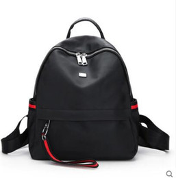226afec743987 2018 Fashion Brands Preppy Style Nylon School Backpack Bag For College  Simple Design Men Casual backpack Daypacks mochila male New
