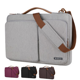 Macbook pro 15.4 ноутбук онлайн-2018 New13 15 15.4 15.6 laptop case sleeve for macbook air pro 13.3 inch, Notebook handbag bag ,computer shoulder bag