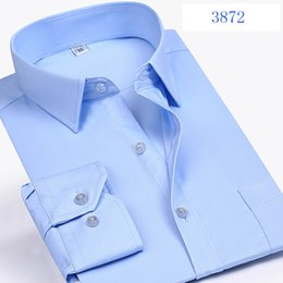 Wholesale Large Mens Dress Shirts - new pure cotton high quality autumn winter Dress Shirts Formal super large men long Sleeve mens fashion casual plus size M-9XL