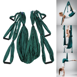 Wholesale Multifunction Blanket - Parachute Fabric Anti-gravity Large Bearing Yoga Hammock Yoga Hammock Swing Elastic Fabric Multifunction Anti-gravity Belt weight