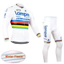 Wholesale Men Cycling Jersey Kuota - KUOTA LAMPR team Cycling Winter Thermal Fleece jersey (bib) pants sets long sleeve jersey mtb bike sports wear C1213