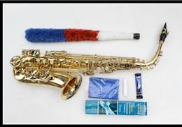 Wholesale Yanagisawa Alto - Japan Yanagisawa Professional Saxophone Alto Eb Sax Electrophoresis Gold Brass Instruments Music Saxofone Alto Sax
