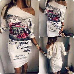 taille plus robe maxi pour le soir Promotion Femmes Floral Printeed Sans Manches Boho Dress Robe De Soirée De Soirée Longue Maxi Robe Eté Plus La Taille Robe Longue Casual Robes De Soirée
