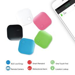 2019 etiqueta bluetooth Nueva protección de seguridad Smart Mnini Key Finder Tag Wireless Bluetooth Tracker Niño Keyfinder GPS Localizador Rastreador Anti-perdida de alarma OTH829 etiqueta bluetooth baratos