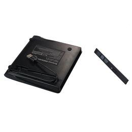 Nueva llegada al por mayor Negro USB 3.0 externa DVD Rom Caso USB 3.0 a 12.7 mm SATA recinto para CD DVD RW desde fabricantes