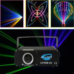 Wholesale disco laser light show - 500mw RGB animation analog modulation laser light show  DMX,ILDA laser disco light  stage laser projector