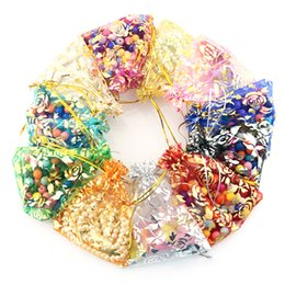Wholesale jewelry settings use - 2018 10pcs set Organza Candy Jewelry Wedding Gift Pouch Bags 7*9 9*12 11*16 CM Mix Color for Party Holiday New Year Use