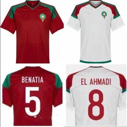Wholesale Men S Formal Shirts - New Morocco 2018 World Cup Kit soccer jerseys shirt ready for sale! The final version is based on the formal version