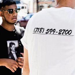 Wholesale fashion couple t shirts - 17AW S Brooklyn Box Logo Tee White Color Limited Short Sleeve Camouflage T-shirt Men Women Couple Fashion HFLSTX024