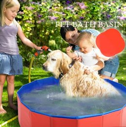 Wholesale Groom Teddy - Summer Pet Bath Basin Pet Products Large Size PVC Foldable Swimming Pool Bathtub for Dog and Cat Teddy Dog Grooming Supplies Top Quality
