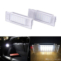 advertencia de las luces del visor Rebajas 1 Unids Led Foot-well Equipaje Tronco Luz Interior Guantera Lámpara Sin Error 24SMD para BMW X5 E46 E39 E82 E88 E91 E92 E53 F10 F01