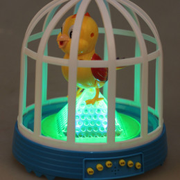 HOGNSIGN En Plastique Enfants Fantaisie Enfants Jouet Électrique Capteur De Simulation Son Cage À Oiseaux Oiseaux Sera Appelé En Mouvement Animaux Jouets ? partir de fabricateur