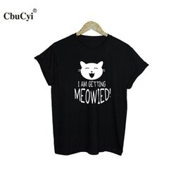 96582d68d Women's Tee Cute Cat Ladies T Shirt I Am Getting ! Tumblr Slogan T Shirt  Women Funny Graphic Tee Shirt Black White Cotton Tshirt