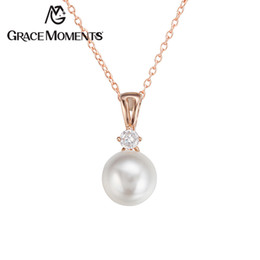 Wholesale Luxury Costume Jewelry Wholesale - Grace Moments Luxury Jewelry Best Birthday Gifts Pearl Pendant & Necklace Choker Bijoux Hottest Jewellery for Costumes for Women