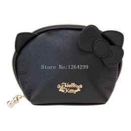 f7a5d493010 cosmetic bag hello kitty Canada - New Fashion Hello Kitty My Melody Girls  Kids Small PU