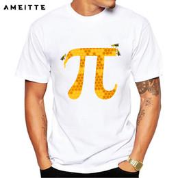2c2dbe05f32a6 2019 matemática camisetas Nova Chegada de Moda Mel Pi Projeto de Matemática  T-Shirt dos
