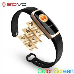 SOVO X1 Smart Bracelet Fréquence Cardiaque Moniteur de Sommeil Fitness Tracker Pression Artérielle Couleur Écran Music Control Sport Smart Band ? partir de fabricateur