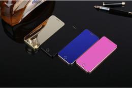 сотовые телефоны a9 Скидка Mini Anica A9 + MP3 FM dual sim-карта Bluetooth dialer OLED-дисплей touch key sync Anti-потерянный мини-кредитная карта мобильный телефон