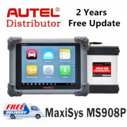 Wholesale Bmw J2534 - AUTEL Maxisys Pro ms908p Autel Maxisys MS908 Pro Autel MS908P Conding J2534 ECU Programming Diagnostic Scanner Update Online Free 2 Years
