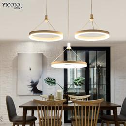 Wholesale Flower Led Light Chain - Modern LED pendant lights for living room dining room flower shape Acrylic Fixture Restaurant Bedroom Decorative Pendant Lights