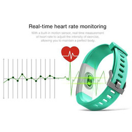 Deutschland 2018 neue Original Farbe LCD Bildschirm ID115 Plus Smart Armband Fitness Tracker Schrittzähler Uhr Band Herzfrequenz Blutdruckmessgerät Versorgung