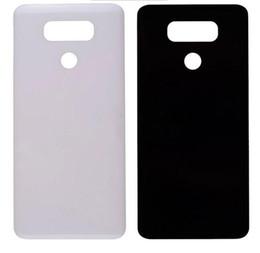 2019 iphone 6s logement de remplacement OEM pour LG G6 En Verre Batterie Couverture Arrière Couvercle Boîtier De Porte pour LG G6 H870 H871 H872 H873 H870K LS993 US997 VS988 Pièces De Réparation
