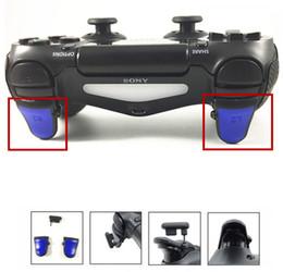 пыль ps4 Скидка 3 в 1 R2 L2 регулируемые триггера удлинители ж / Dust plug двойной триггеры вложение для Playstation PS4 Dualshock 4 PS4 Slim PS4 Pro