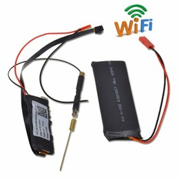 Mini camara wifi para android online-32GB HD 1080 P Mini Súper Pequeña Cámara Portátil P2P Inalámbrico WiFi Grabador de Video Digital para iOS Android APP Remote View S06