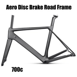 Wholesale Fibre Discs - Aero design 2018 Newest Disc brake Carbon fiber carbon road bike frame avaliable carbon road frame UD matte finish