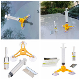 Kit per parabrezza online-Set di strumenti di riparazione parabrezza parabrezza kit di riparazione del vetro del vento auto strumento fai-da-te per chip crack AAA205