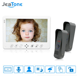 résolution vidéo Promotion JeaTone Interphone vidéo couleur haute résolution 10