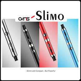 Wholesale E Cigarettes Charging Vape - Original Slimo Vape Pen Starter Kit 1.6ml atomizer Fast Charge Mirco USB Battery 1100Mah E Cigarette