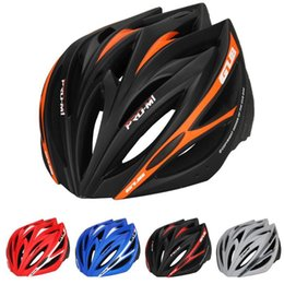 helmet visors Coupons - M1 Ultralight 21 vents Cycling MTB Mountain Road Bicycle Bike Helmet Women Men Half Packed Type In-mold Visor High Quality